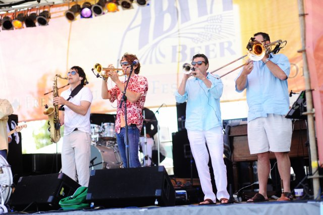 Bucktown All-Stars New Orleans Party Band, French Quarter Fest, French Quarter Festival, Classic New Orleans R&B, soul