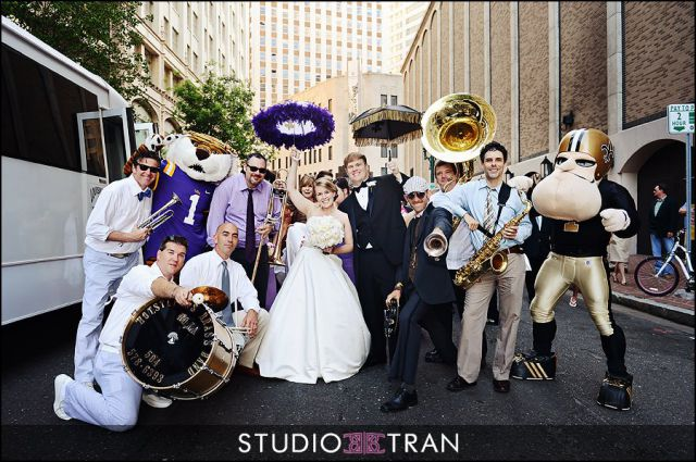 Bucktown All-Stars Best New Orleans Wedding Band